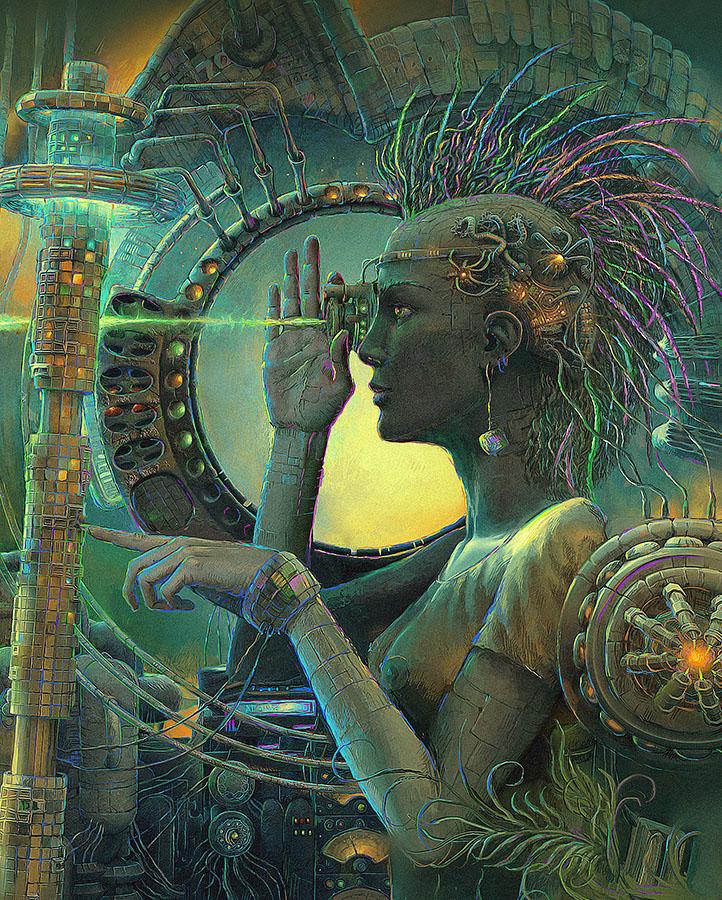 Bleak surrealistic paintings by Russian artist Andrew Ferez