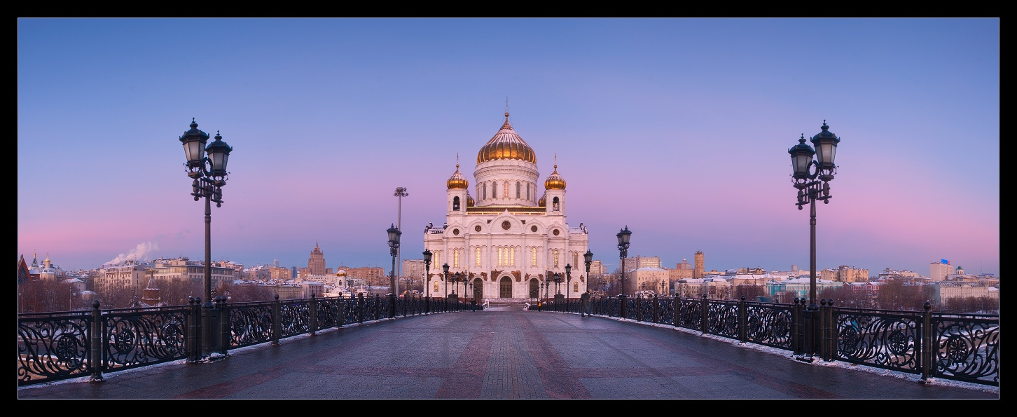 Bright photographs of night Moscow by Andrey Ulyashev - 19