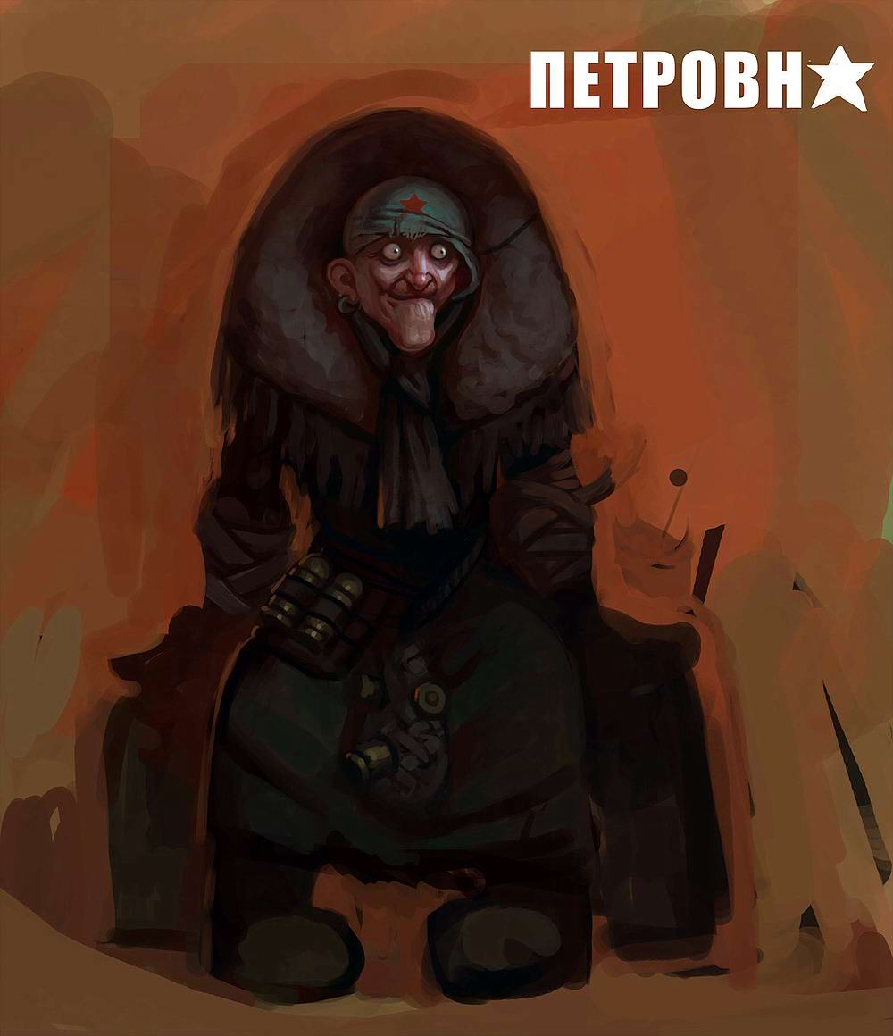 Harsh Russian post-apocalyptic grannies by Eduard Nabiullin - 11