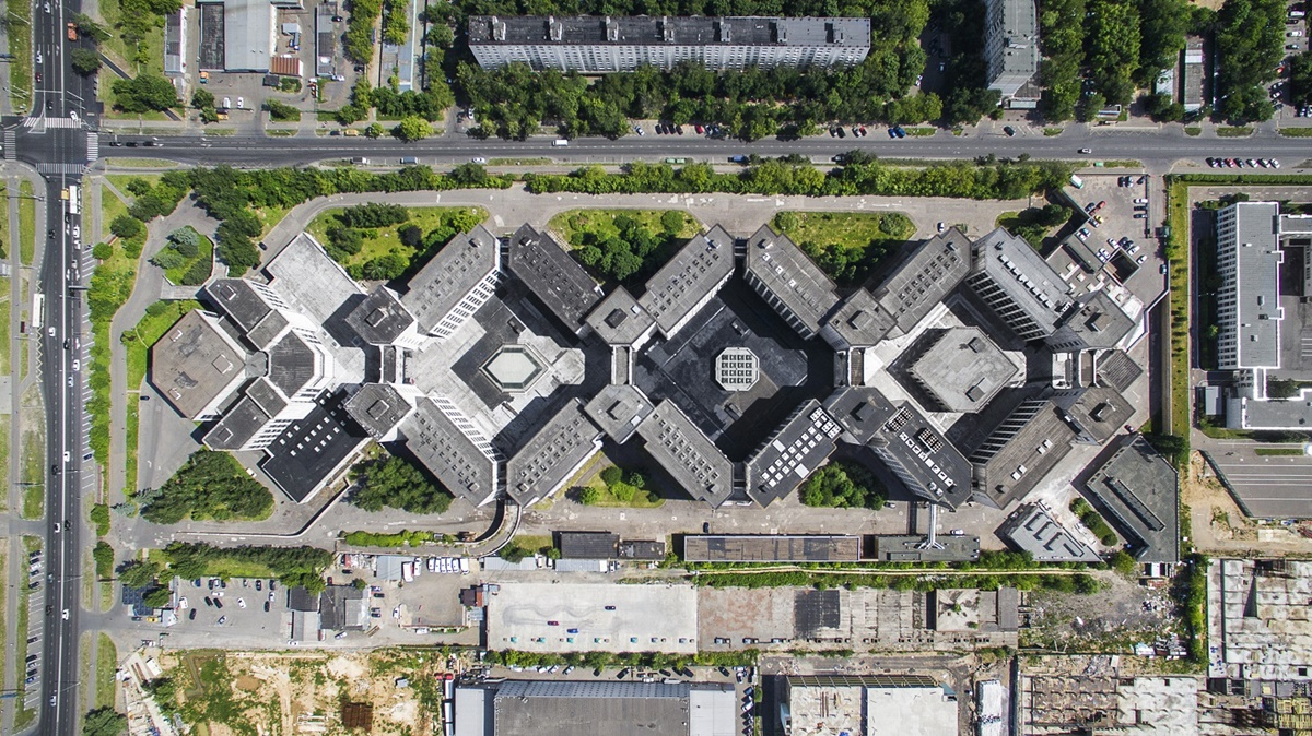 Russian unique architecture which looks better from above - 11
