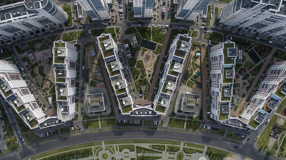 Russian unique architecture which looks better from above - 17