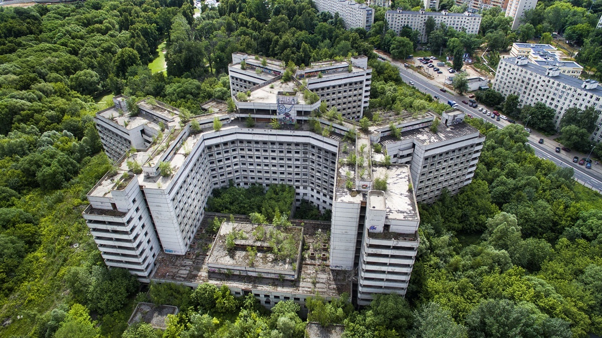Russian unique architecture which looks better from above - 4
