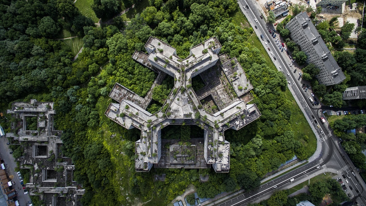 Russian unique architecture which looks better from above - 6