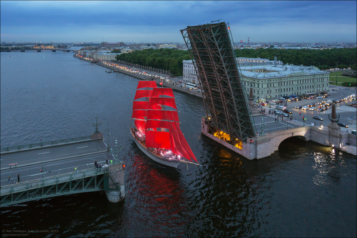 Scarlet Sails 2015: Bright fireworks show in Saint Petersburg - 2