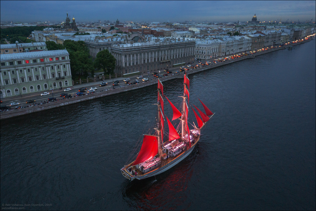 Scarlet Sails 2015: Bright fireworks show in Saint Petersburg - 3
