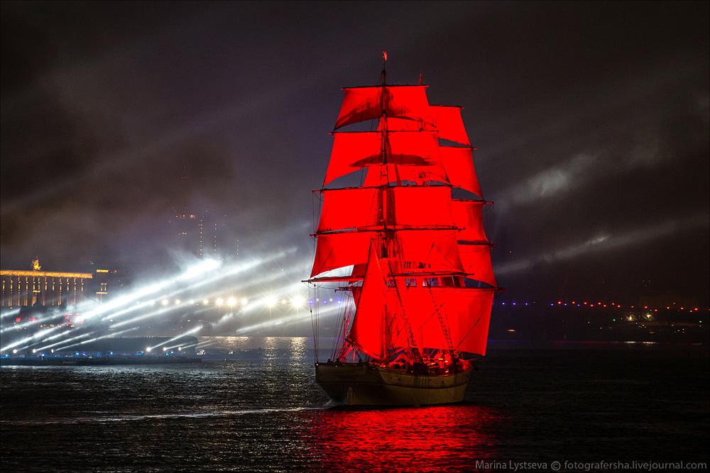 Scarlet Sails 2015: Bright fireworks show in Saint Petersburg - 40