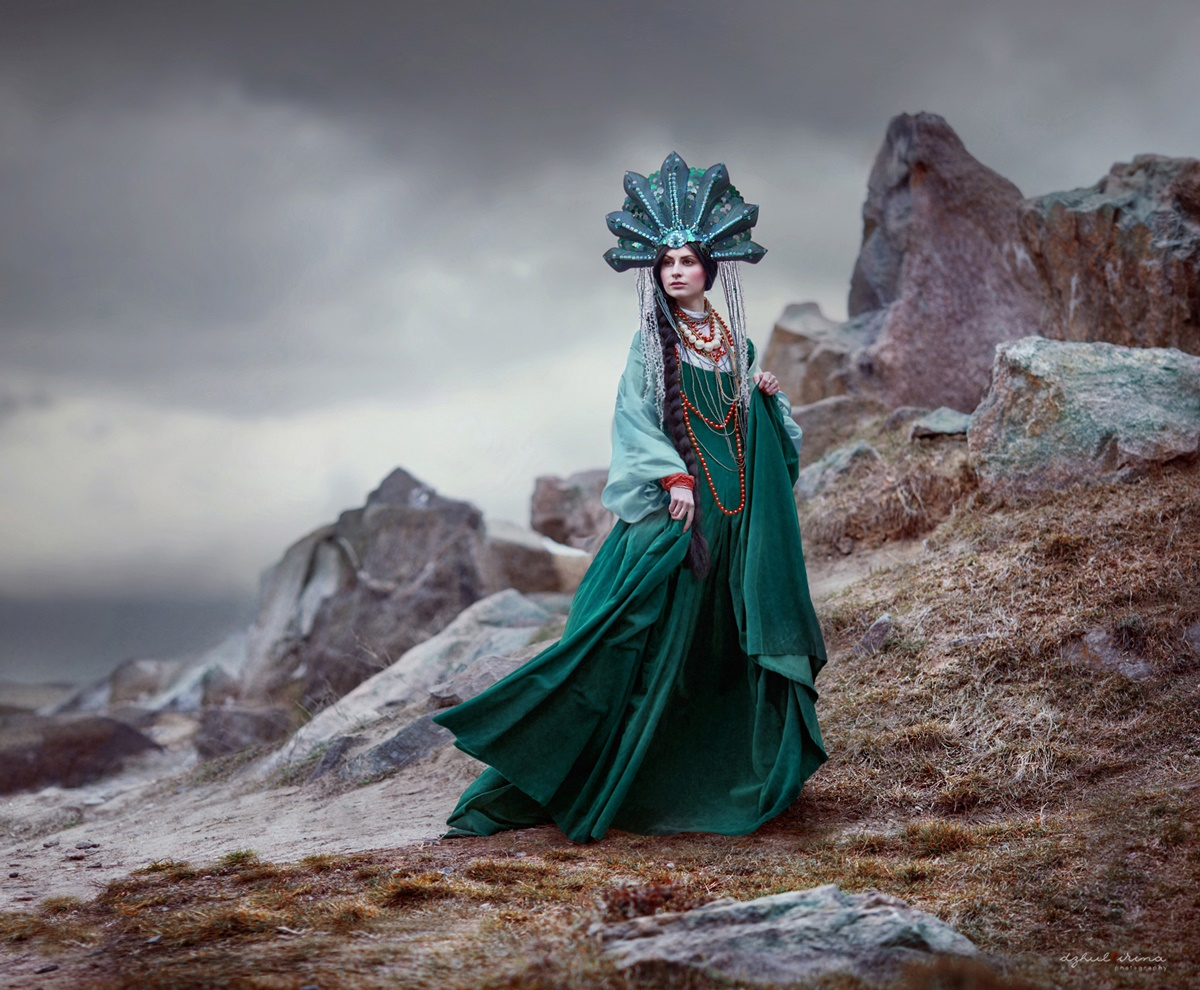 Fabulous portraits by Ukrainian photo artist Irina Dzhul - 36
