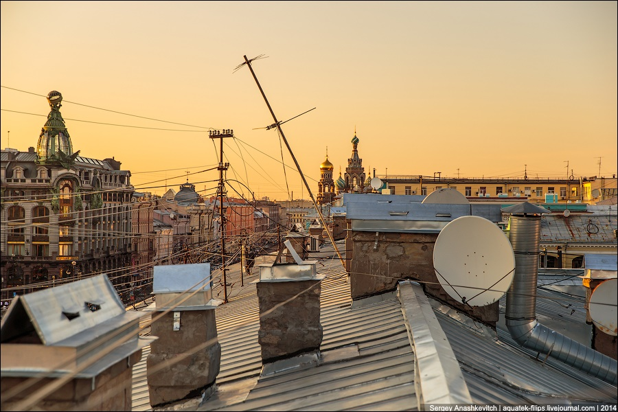 Above the city: Walking on the roofs in Saint Petersburg - 15