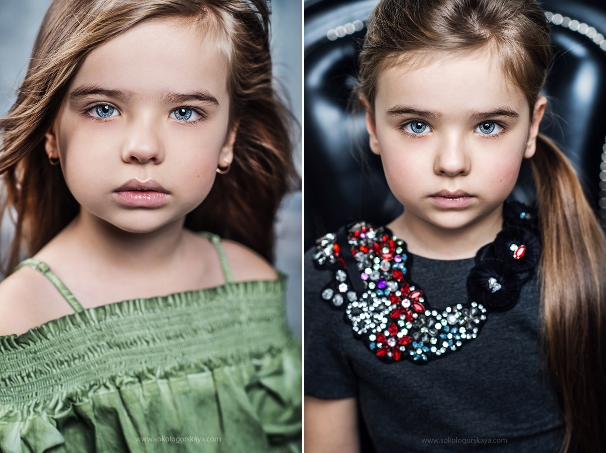 Adult childhood: Big modeling career of little Russian kids. Sofia Fanta - 2