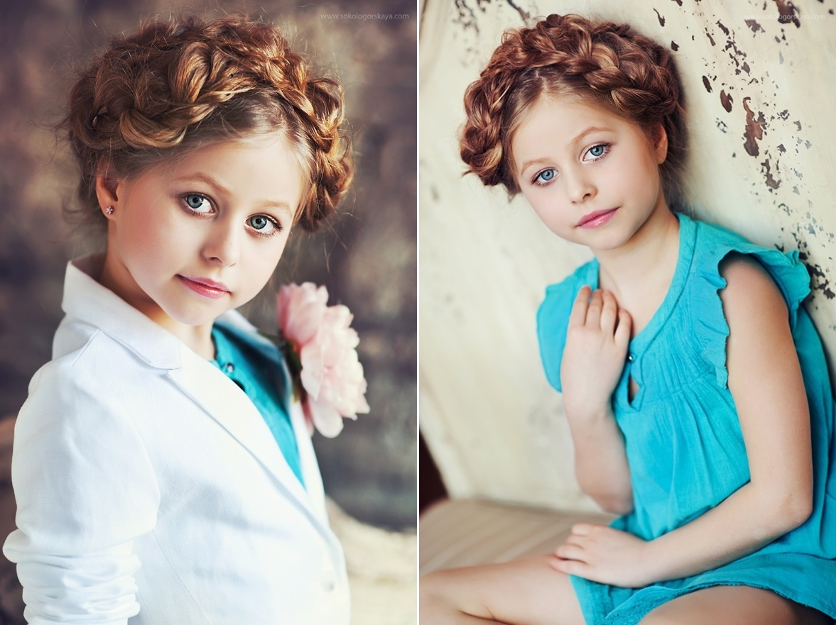 Adult childhood: Big modeling career of little Russian kids. Lolita Yerokhina