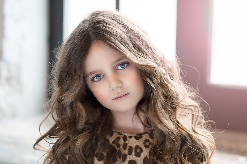 Adult childhood: Big modeling career of little Russian kids. Sofya Grigoryan - 3