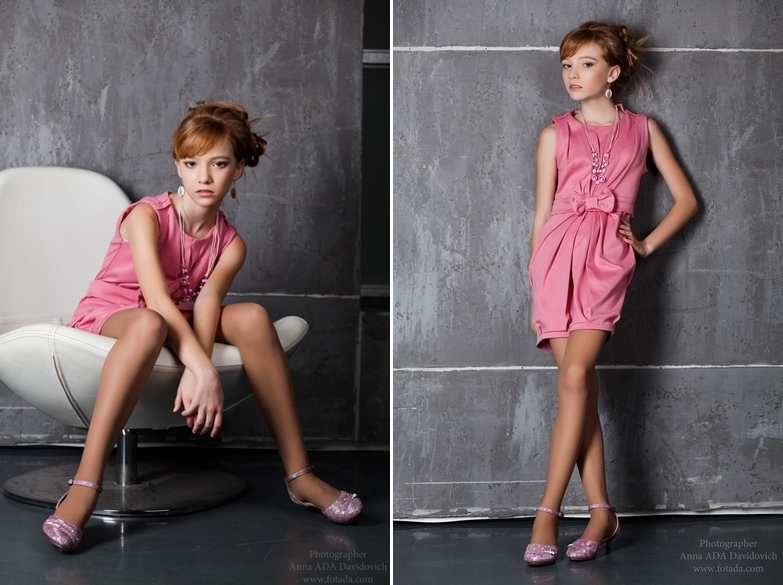 Adult childhood: Big modeling career of little Russian kids. Lyudmila Dubova - 3