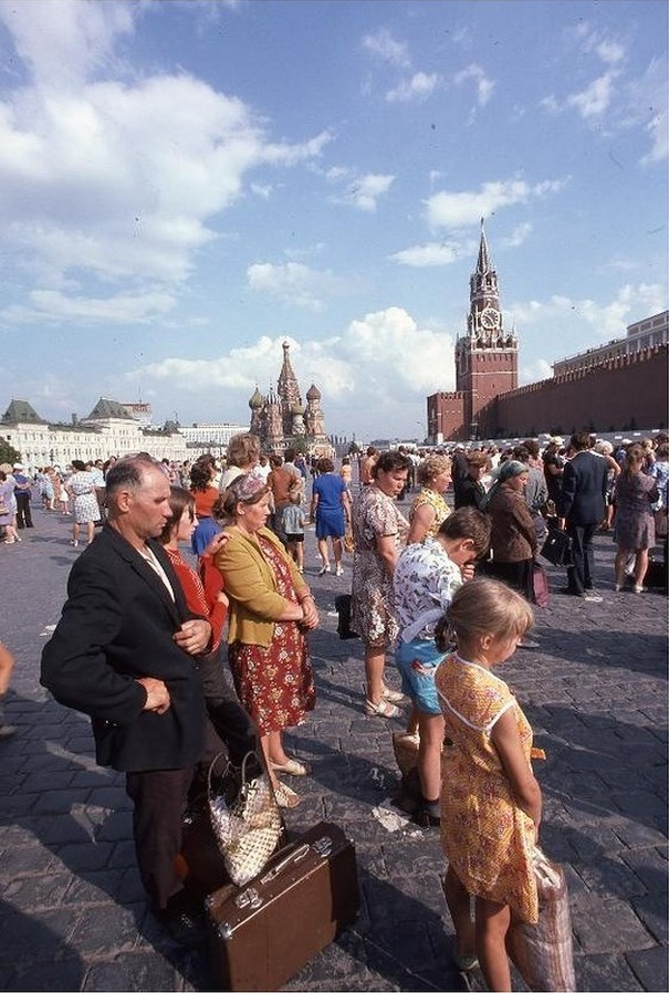 Moscow in 1975: The USSR on photos by Hans Rudolf Uthoff - 29