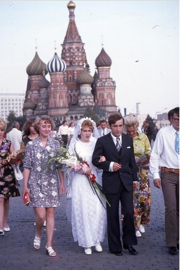 Moscow in 1975: The USSR on photos by Hans Rudolf Uthoff - 31