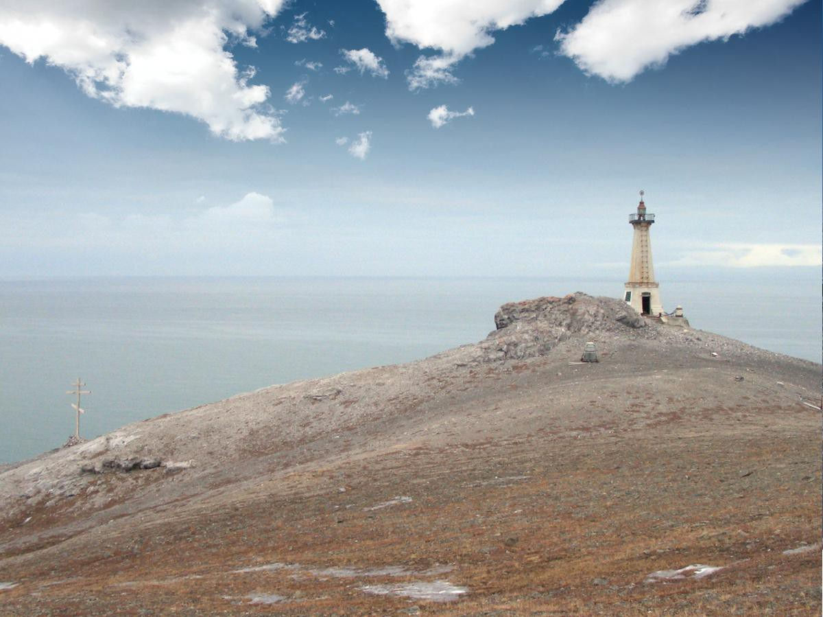 Easternmost mainland point of Russia: Cape Dezhnev - 2
