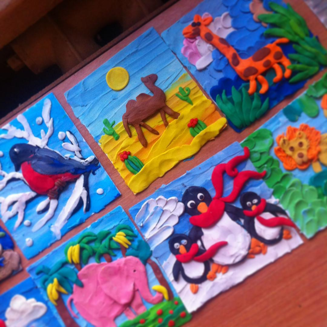 Olivet School: Plasticine Art  Plasticine Sculpture