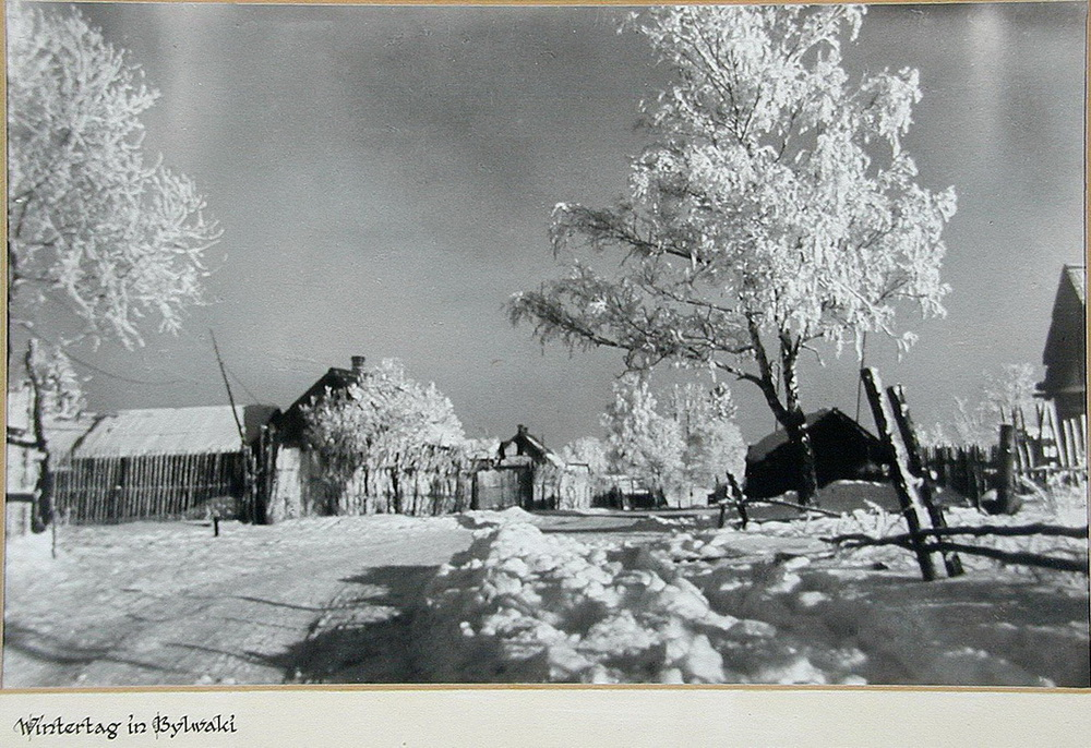 Soviet village during WWII on the photos of Asmus Remmer - 13