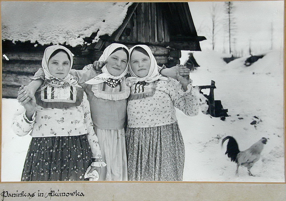 Soviet village during WWII on the photos of Asmus Remmer - 14