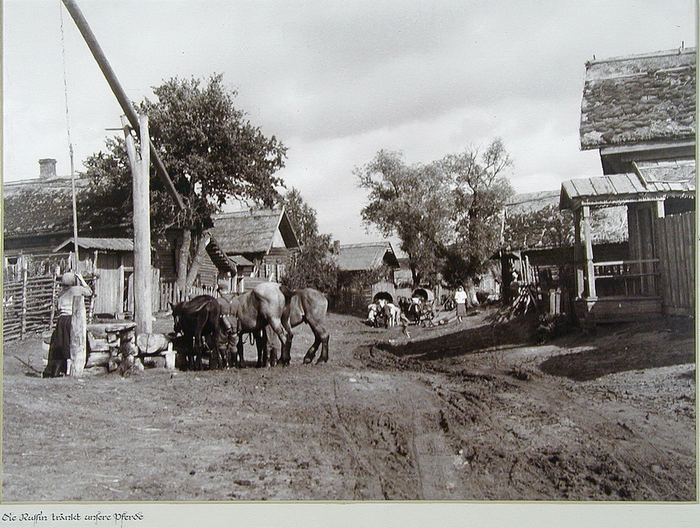 Soviet village during WWII on the photos of Asmus Remmer - 17