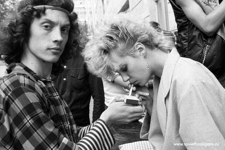 Soviet culture: Goths, punks and metalheads of the USSR - 1