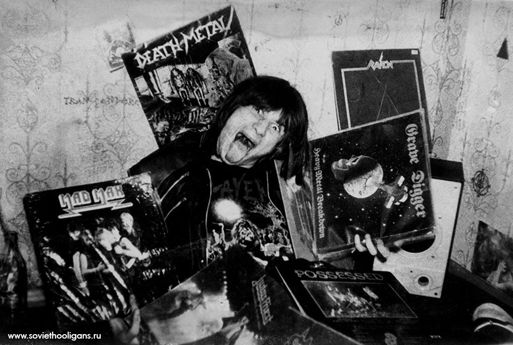 Soviet culture: Goths, punks and metalheads of the USSR - 15
