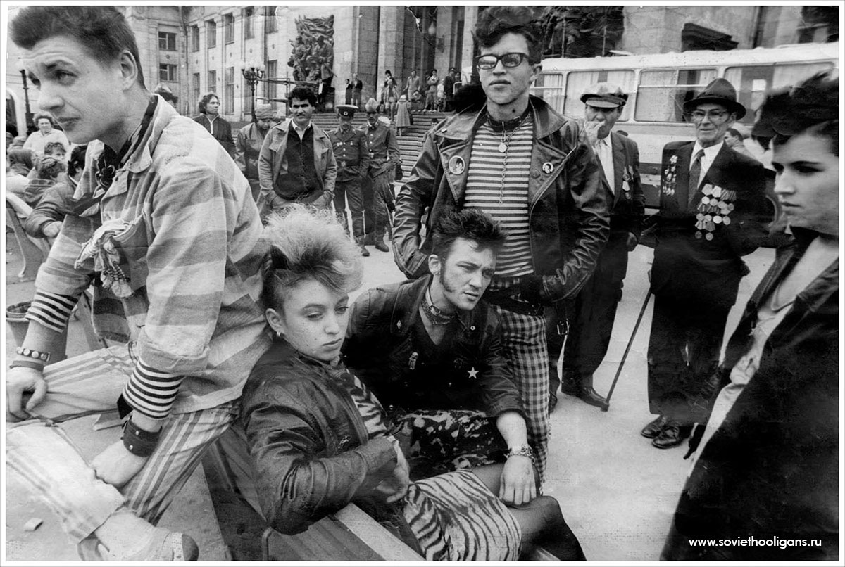 Soviet culture: Goths, punks and metalheads of the USSR - 2