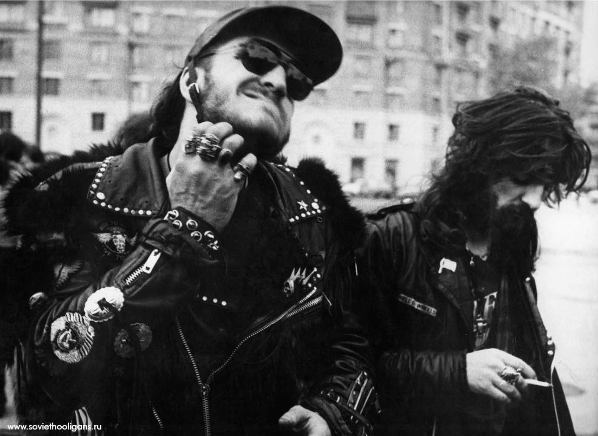 Soviet culture: Goths, punks and metalheads of the USSR - 21