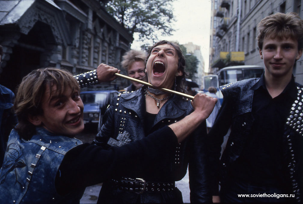 Soviet culture: Goths, punks and metalheads of the USSR - 4
