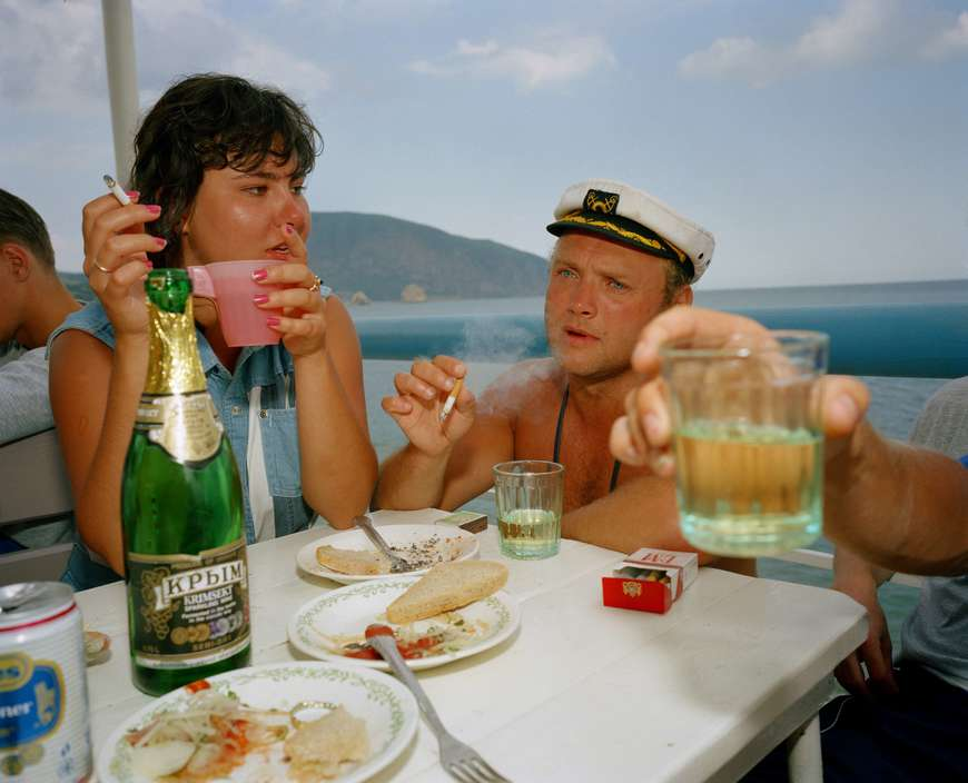 Ukraine 1990s: The city of Yalta on photos by Martin Parr - 10