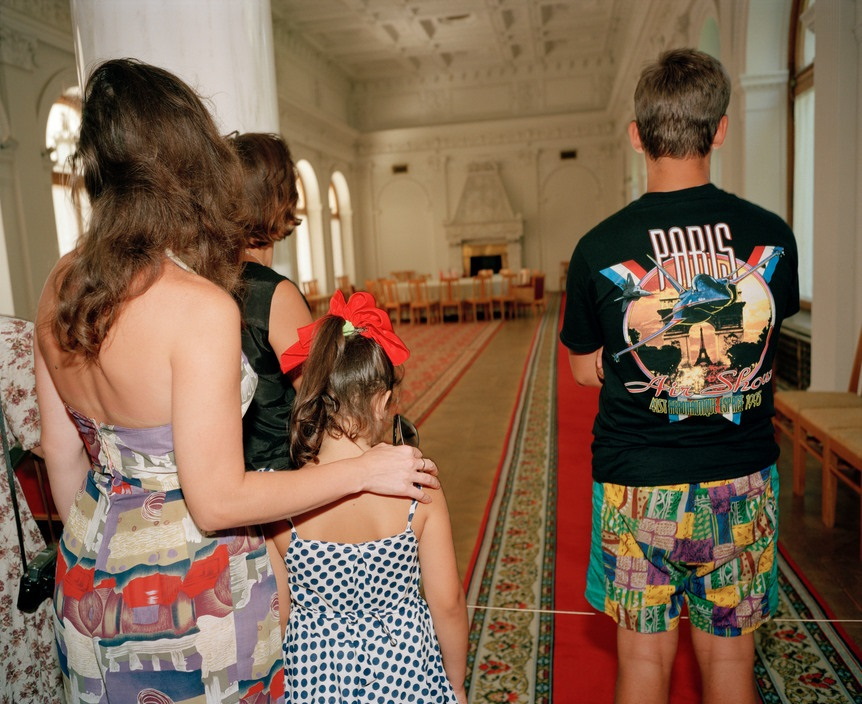Ukraine 1990s: The city of Yalta on photos by Martin Parr - 20