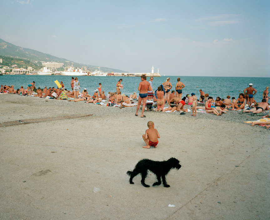 Ukraine 1990s: The city of Yalta on photos by Martin Parr - 23