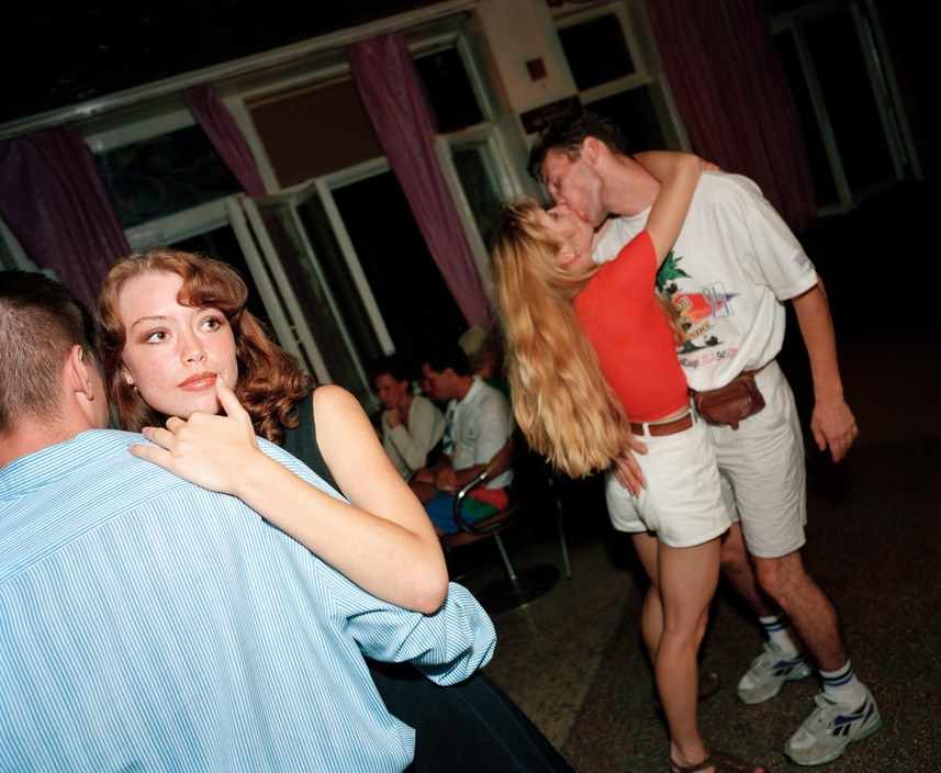 Ukraine 1990s: The city of Yalta on photos by Martin Parr - 3