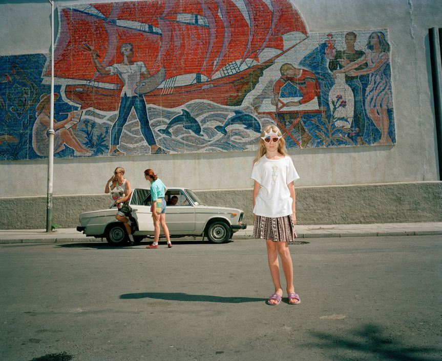 Ukraine 1990s: The city of Yalta on photos by Martin Parr - 32