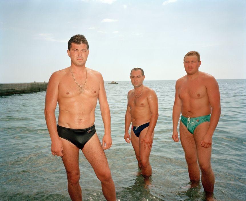Ukraine 1990s: The city of Yalta on photos by Martin Parr - 33