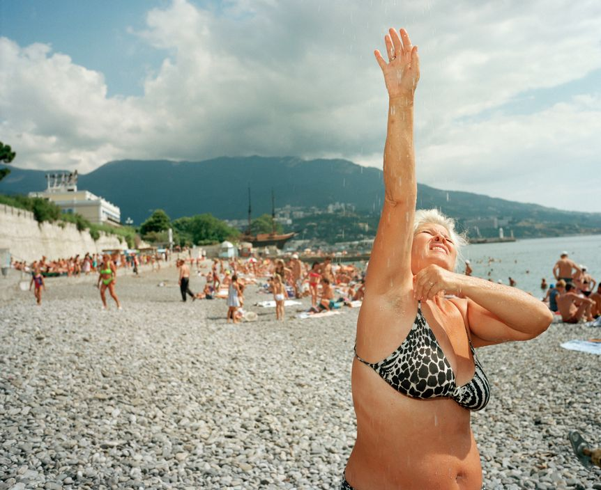 Ukraine 1990s: The city of Yalta on photos by Martin Parr - 34