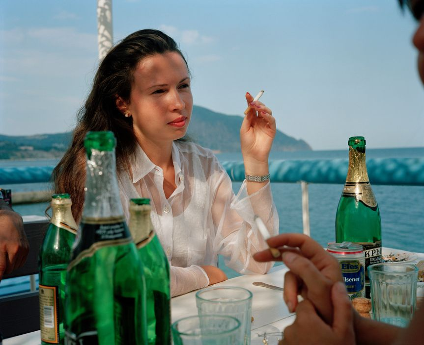 Ukraine 1990s: The city of Yalta on photos by Martin Parr - 36