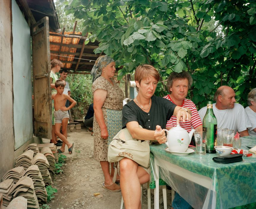 Ukraine 1990s: The city of Yalta on photos by Martin Parr - 43