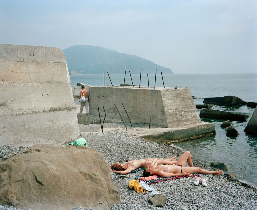 Ukraine 1990s: The city of Yalta on photos by Martin Parr - 44