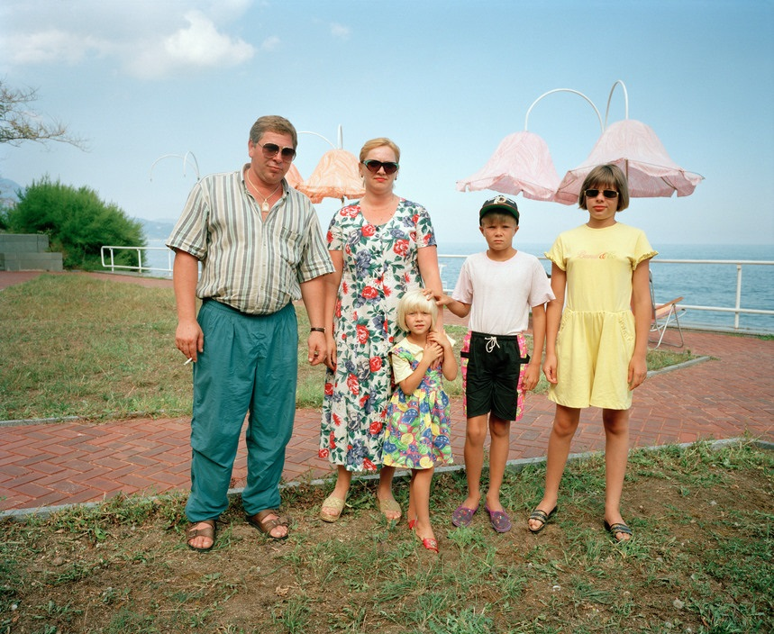 Ukraine 1990s: The city of Yalta on photos by Martin Parr - 6