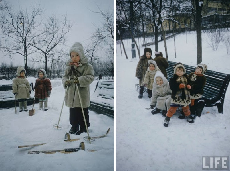 Vintage photos of the harsh winter in the era of Soviet Union - 14