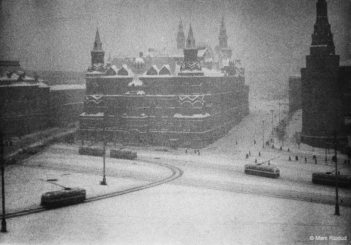 Vintage photos of the harsh winter in the era of Soviet Union - 27