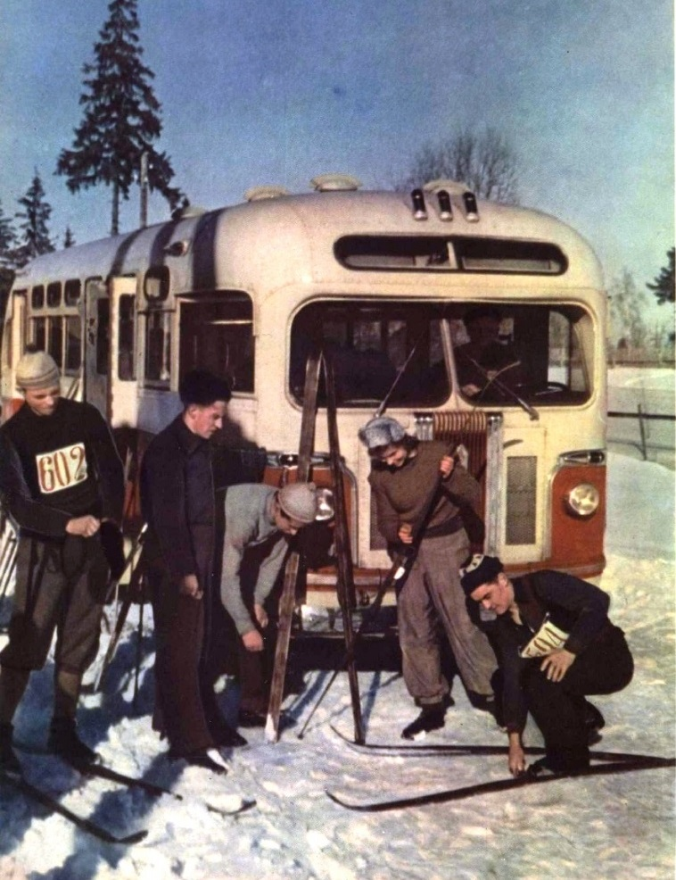Vintage photos of the harsh winter in the era of Soviet Union - 4