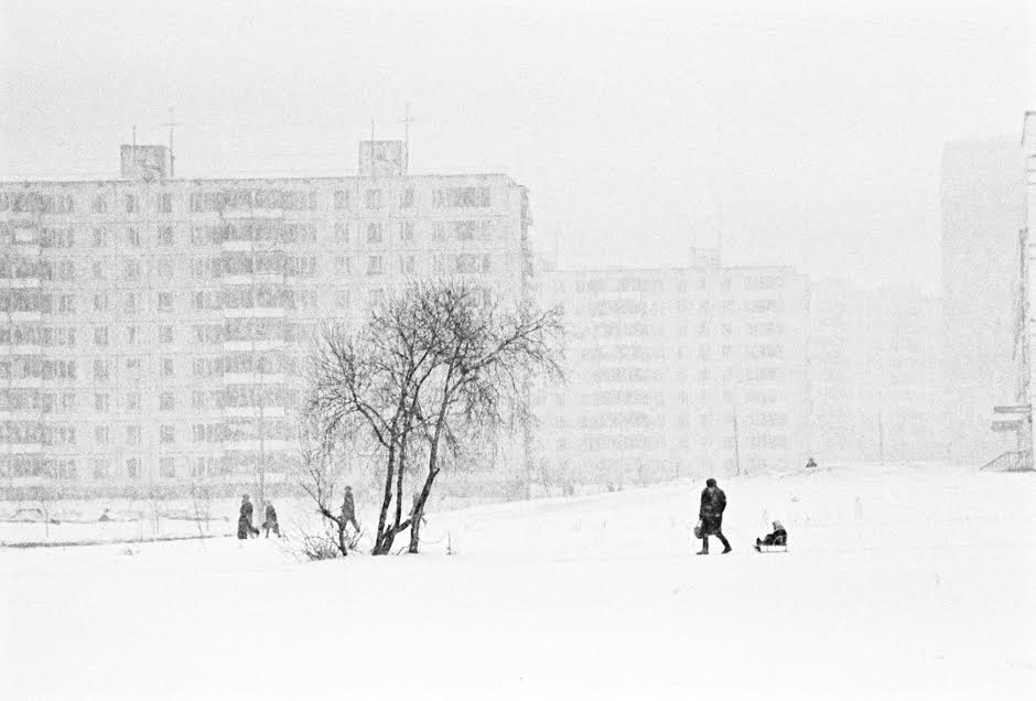 Vintage photos of the harsh winter in the era of Soviet Union - 49