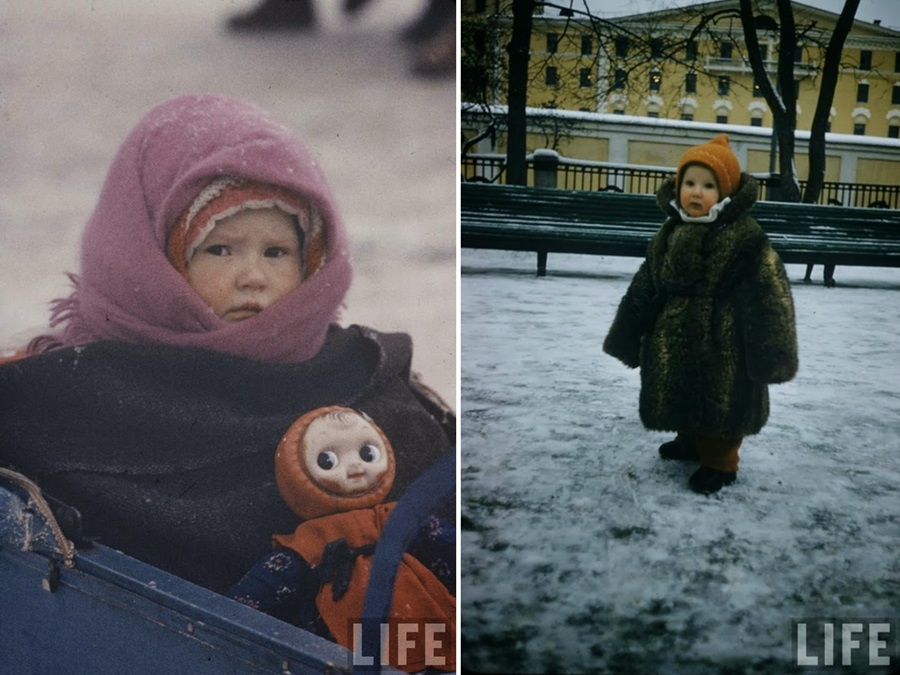 Vintage photos of the harsh winter in the era of Soviet Union - 9