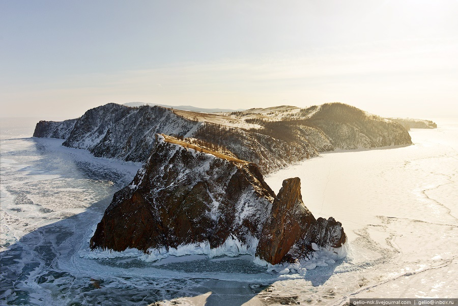 Winter and summer lake Baikal: Delightful photos from the sky - 1