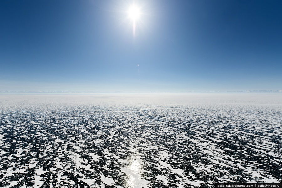 Winter and summer lake Baikal: Delightful photos from the sky - 17