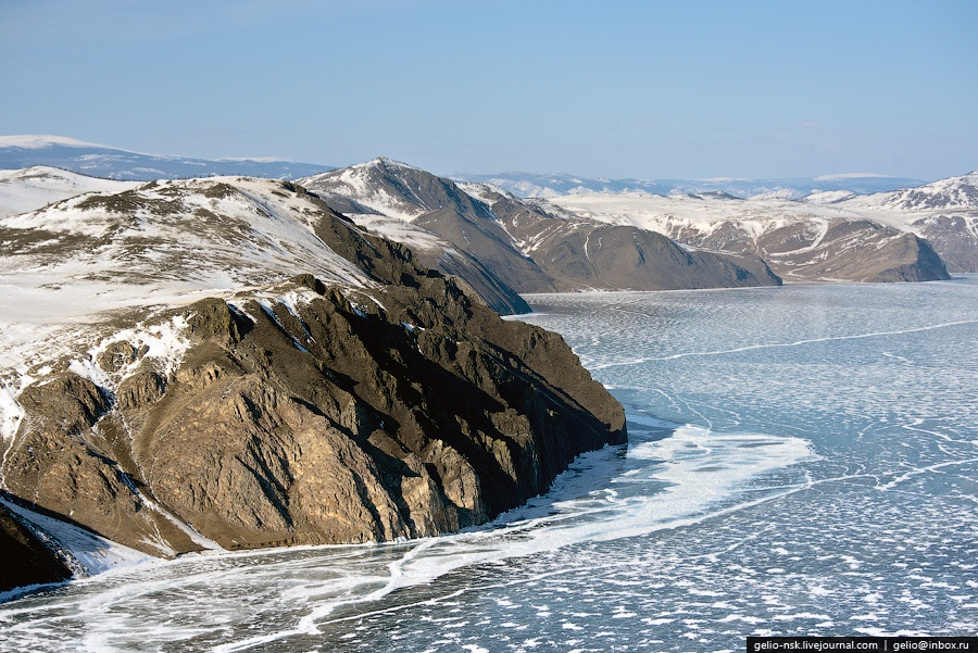 Winter and summer lake Baikal: Delightful photos from the sky - 18