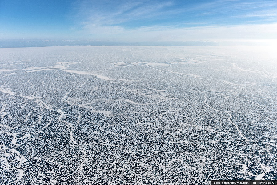 Winter and summer lake Baikal: Delightful photos from the sky - 2