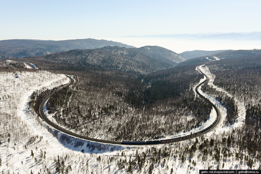 Winter and summer lake Baikal: Delightful photos from the sky - 20