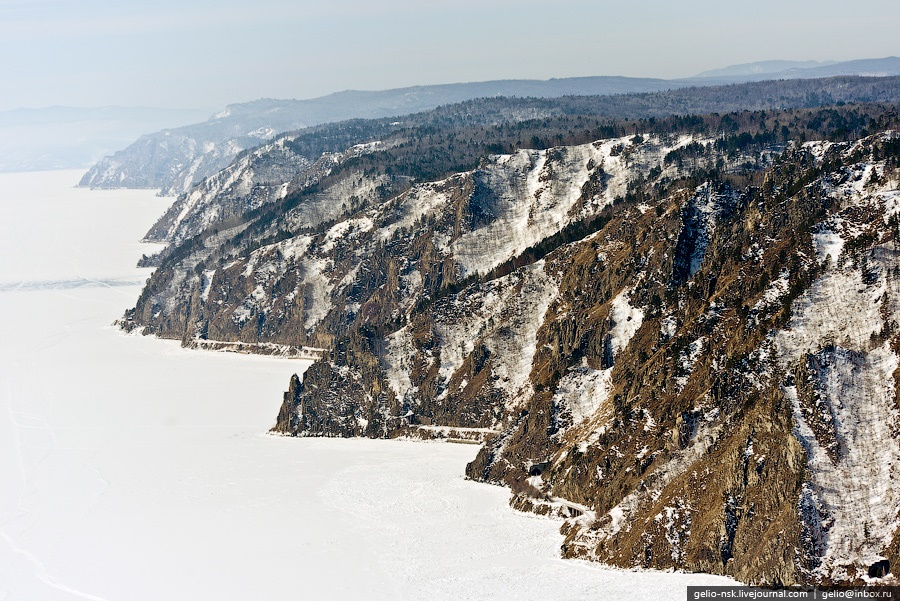 Winter and summer lake Baikal: Delightful photos from the sky - 22
